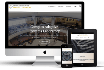 Website For UCF Research Laboratory