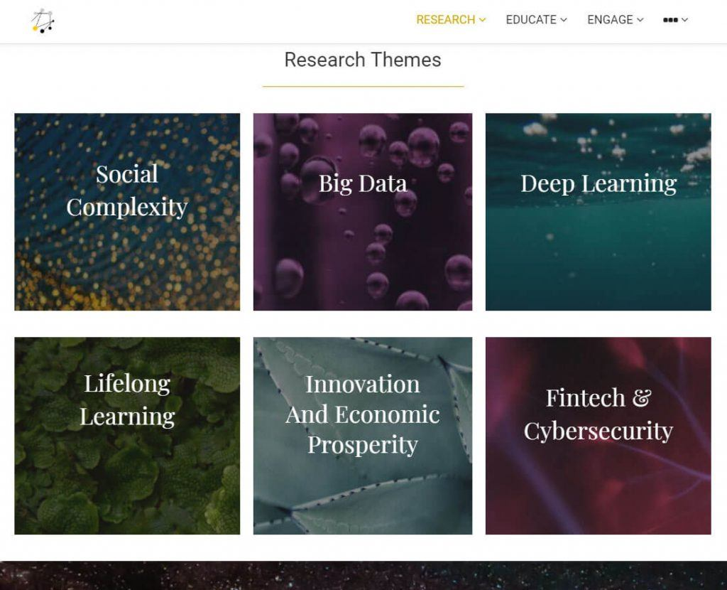 Research Themes Page