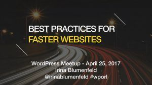 Best Practices For Faster Websites