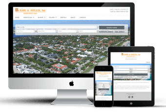 Website for a Real Estate Firm
