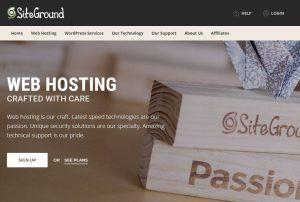 Why we use SiteGround for website hosting
