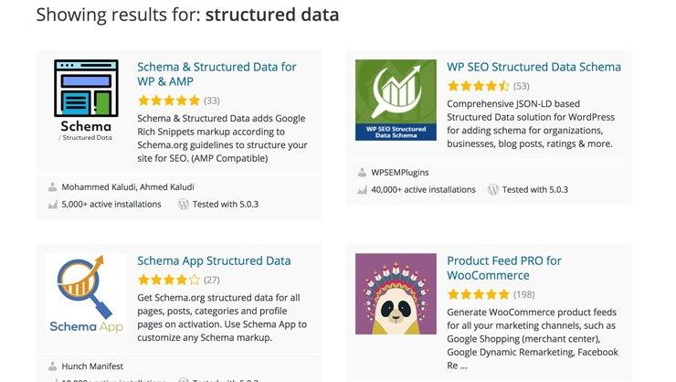 structured-data-plugins